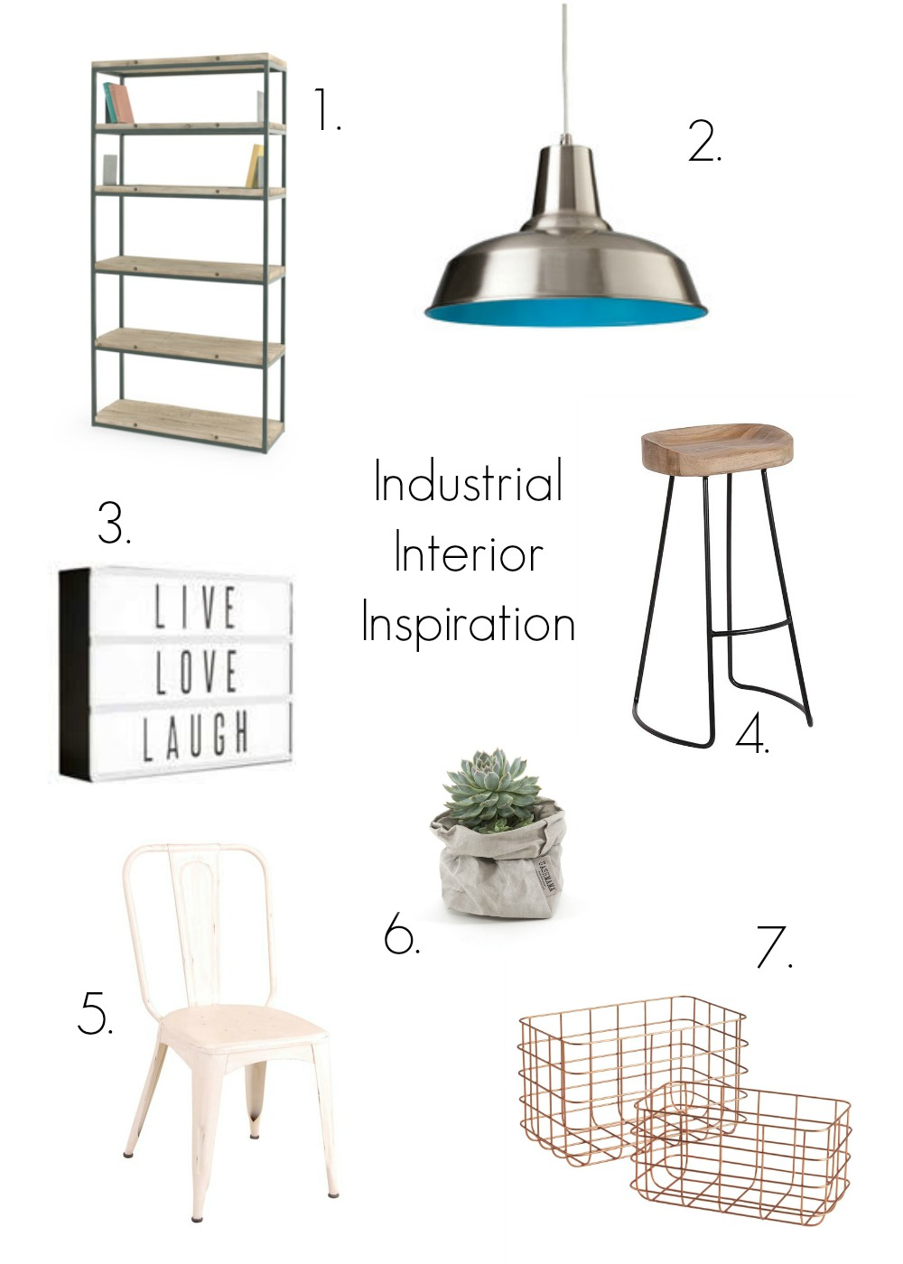 Industrial interior design inspiration