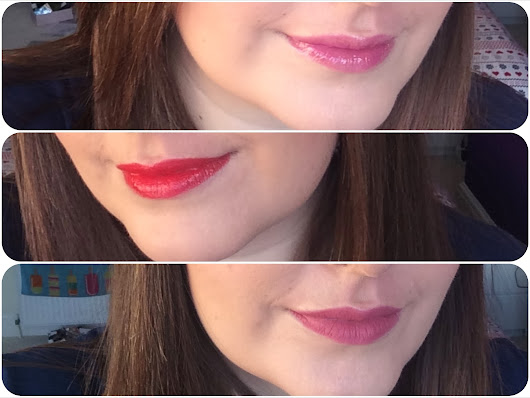 flutter and sparkle: #10giveawaysofchristmas - win a set of three Bare Minerals Moxie lip products