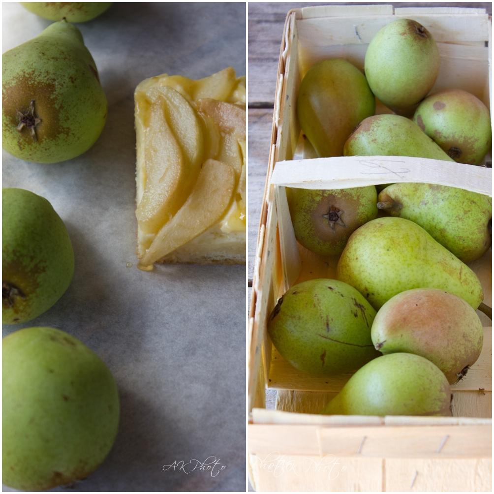 Mango birnen kuchen
