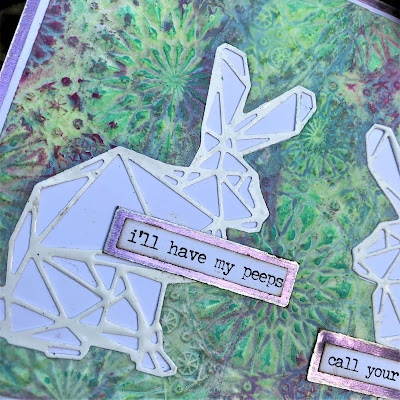 Sara Emily Barker https://sarascloset1.blogspot.com/2019/04/my-peeps-will-call-yours-another-easter.html  #timholtz #sizzix #geospringtime #kaleidescope3Dembossing #oxidespray (3)