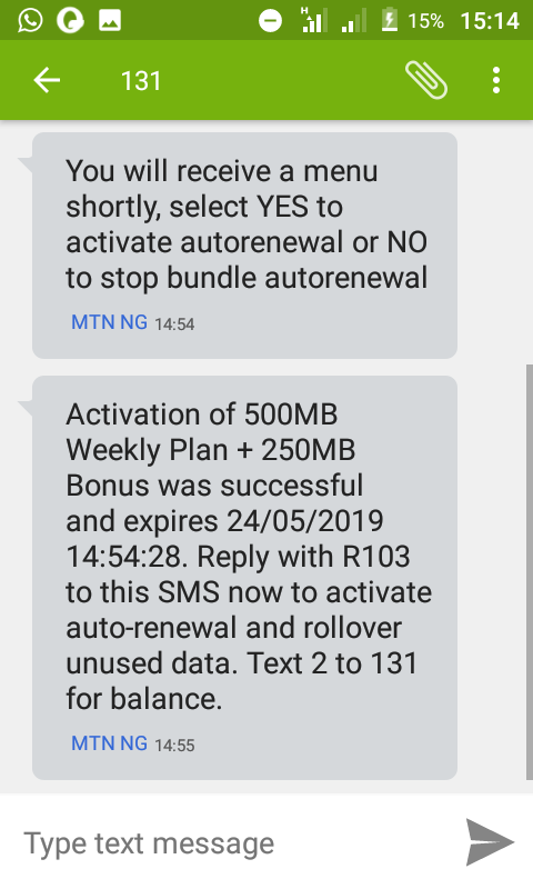 How To Get 500mb On Mymtn App