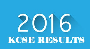 KCSE RESULTS 2016