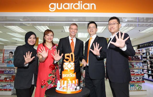 Guardian Malaysia 50th Anniversary