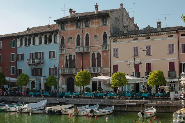 Pueblos bonitos Lago di Garda Italia