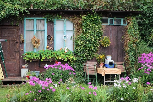 Decorating Your Garden Shed