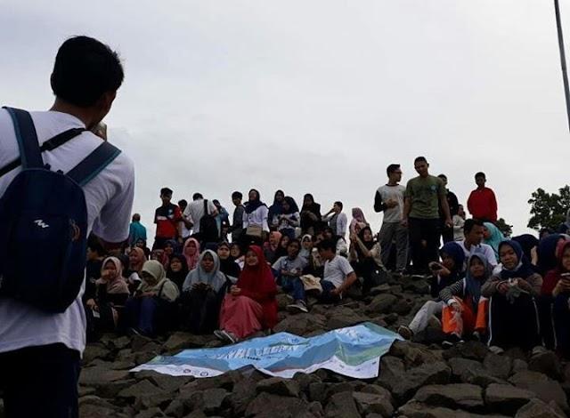 Aksi Peduli Situ Gintung bersama GENBI Clean Action