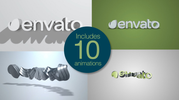 %25D9%2586%25D8%25AA%25D8%25A7 VIDEOHIVE QUICK CLEAN 3D LOGO PACK  After Effects Template download