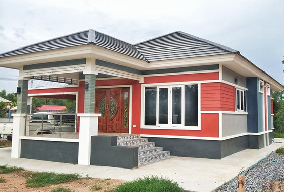 5 Small Bungalow House Design Ideas With Estimated Costs ...