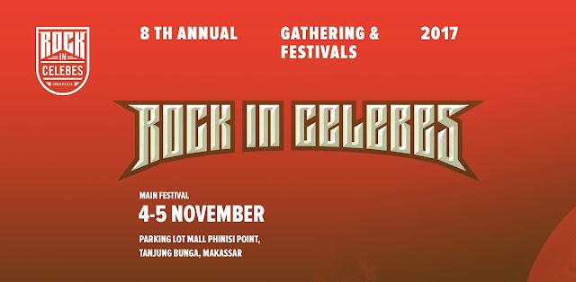 Rock In Celebes Kembali Menghadirkan Perhelatan Festival Akbar Ke-8