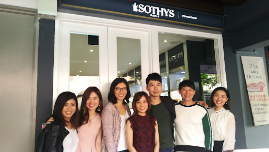 First Sothys Singapore Premium Salon @Boat Quay & Hydra3HA Intensive Treatment Review