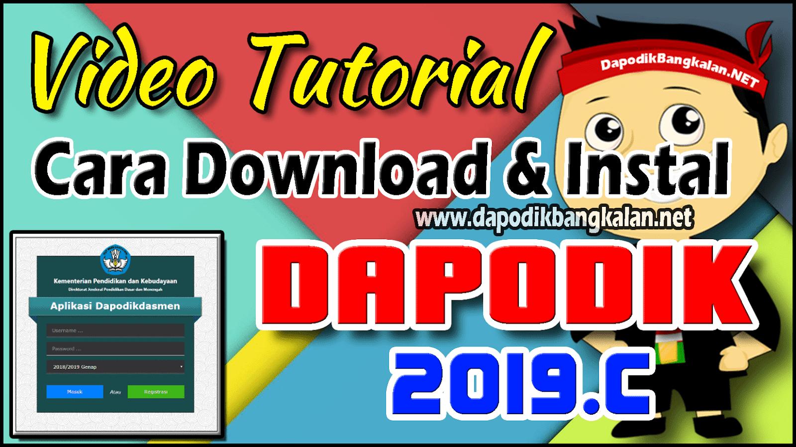 download dapodik 2019