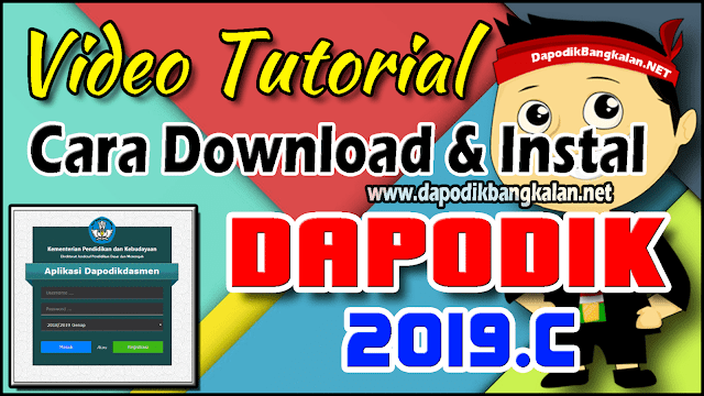 cara download dan instal dapodik 2019.c