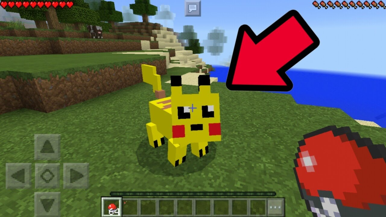 how to make pikachu in minecraft