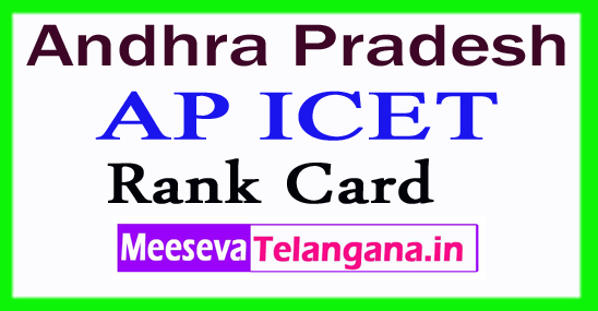 AP ICET Rank Card  2017 AP Result