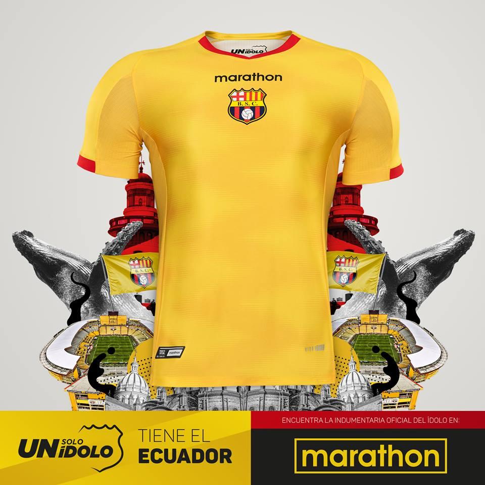 La Noche Amarilla è la denominazione che si riferisce al giorno di  presentazione della squadra e della della maglia di calcio del Barcelona  Sporting Club e2ddf09c25a