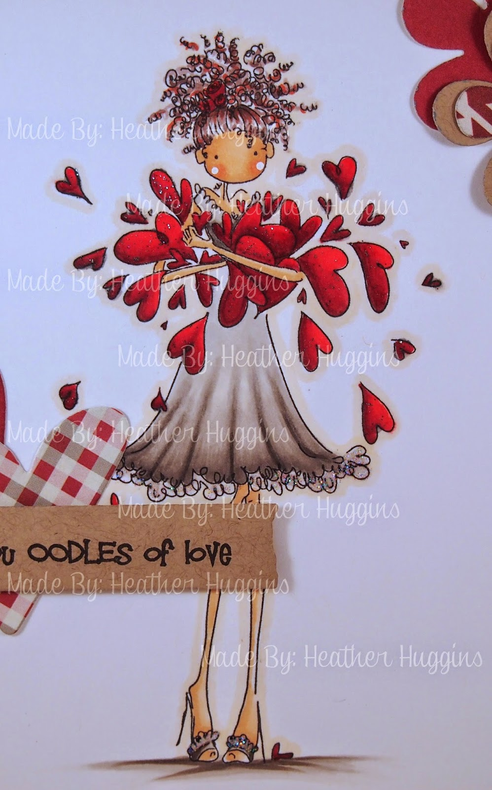 Heather's Hobbie Haven - Lucille Sends Her Love Card Kit