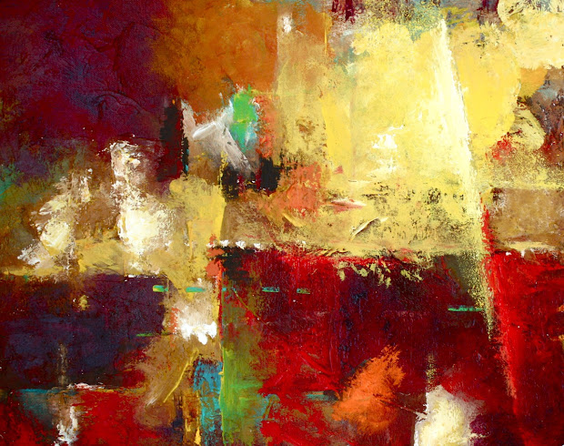 Daily Painters Abstract Vista Contemporary