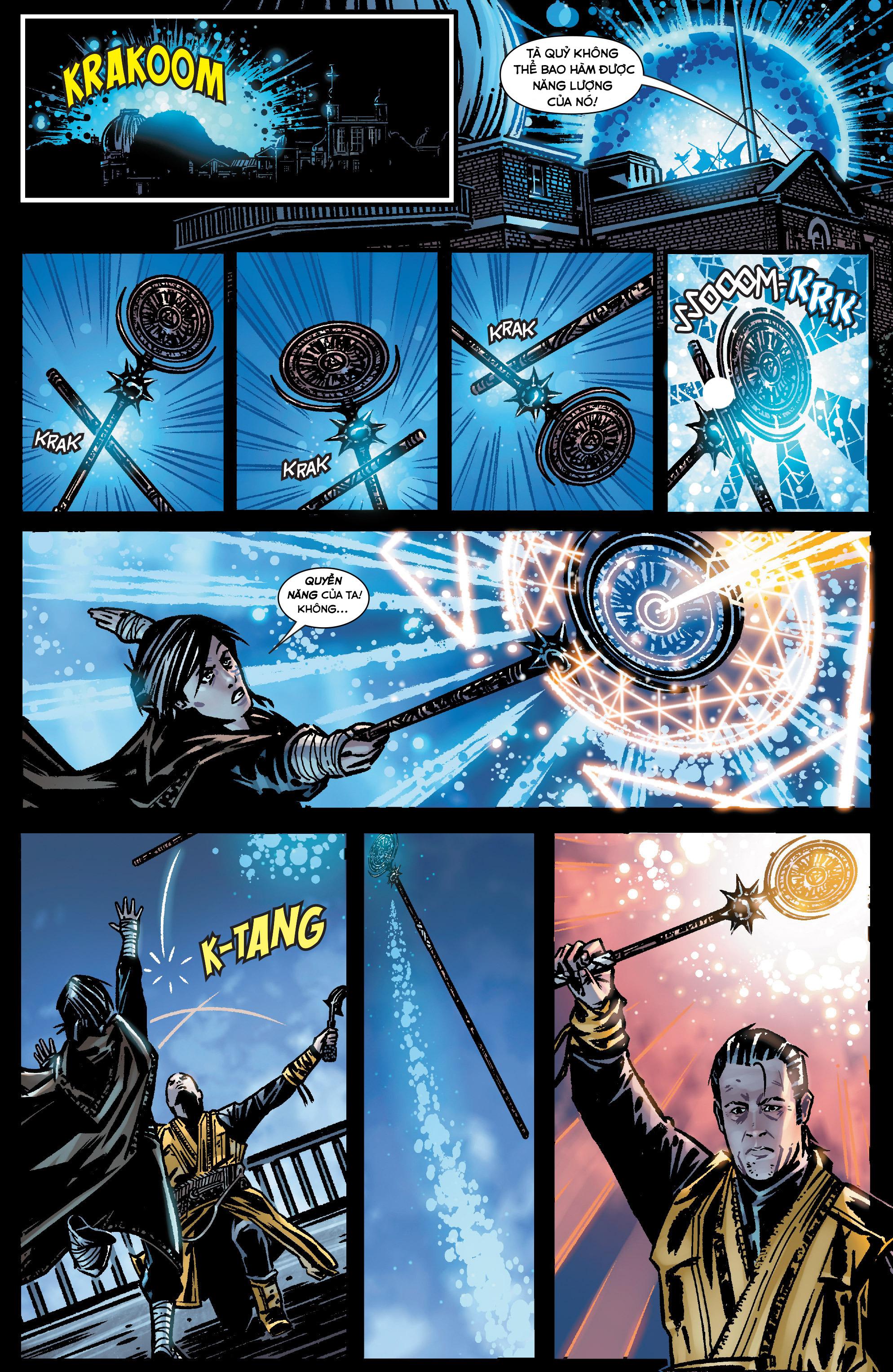 Doctor Strange Prelude kỳ 1 trang 17