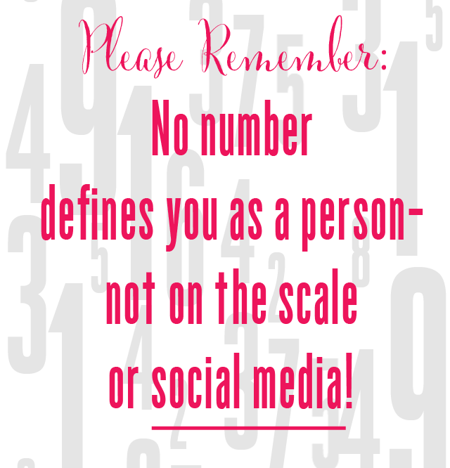 Quote on social media numbers