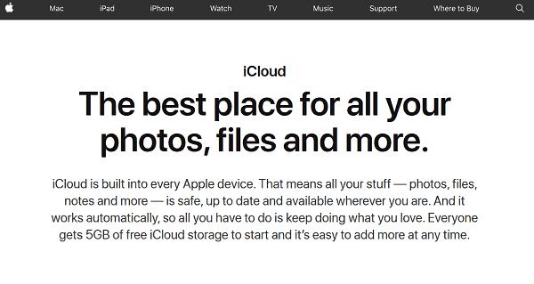Unlock iPhone XS Using iCloud