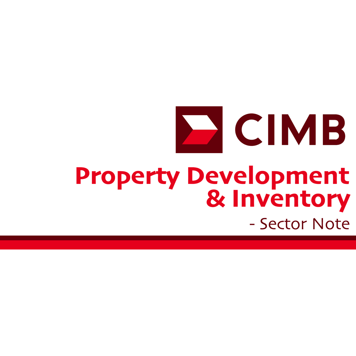 Singapore Property Development & Inventory - CIMB Research 2018-01-15: Robust Outlook