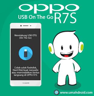 OPPO R7S Support OTG