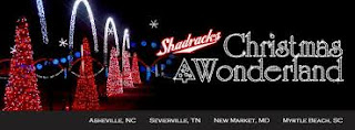 Shadrack's Christmas Wonderland Sevierville Smokies