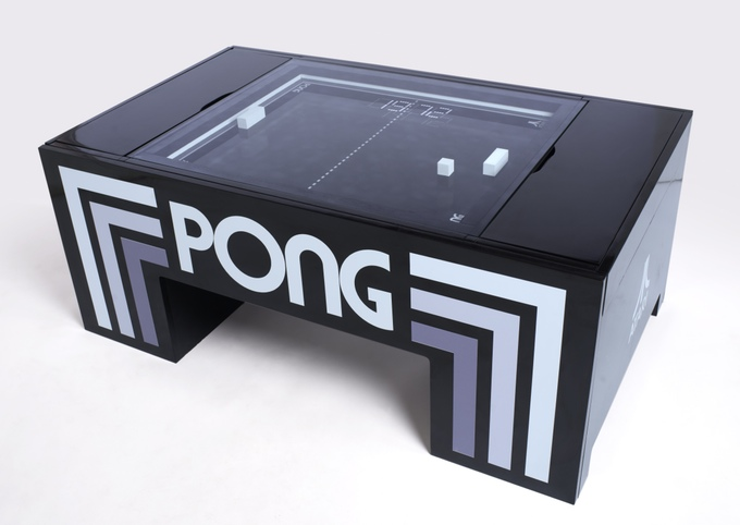 Atari PONG Coffee Table | Ein Tisch wird zur Retro-Game-Station