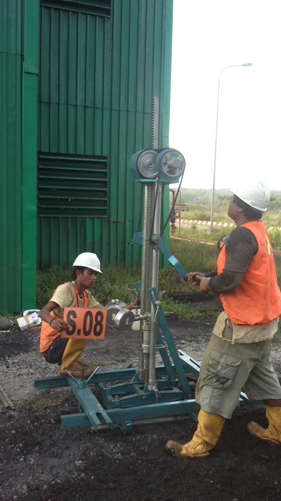 Jasa Soil Test Uji Sondir Tanah Bored Pile Pondasi Balikpapan