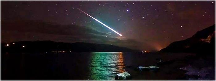 meteoros esporádicos
