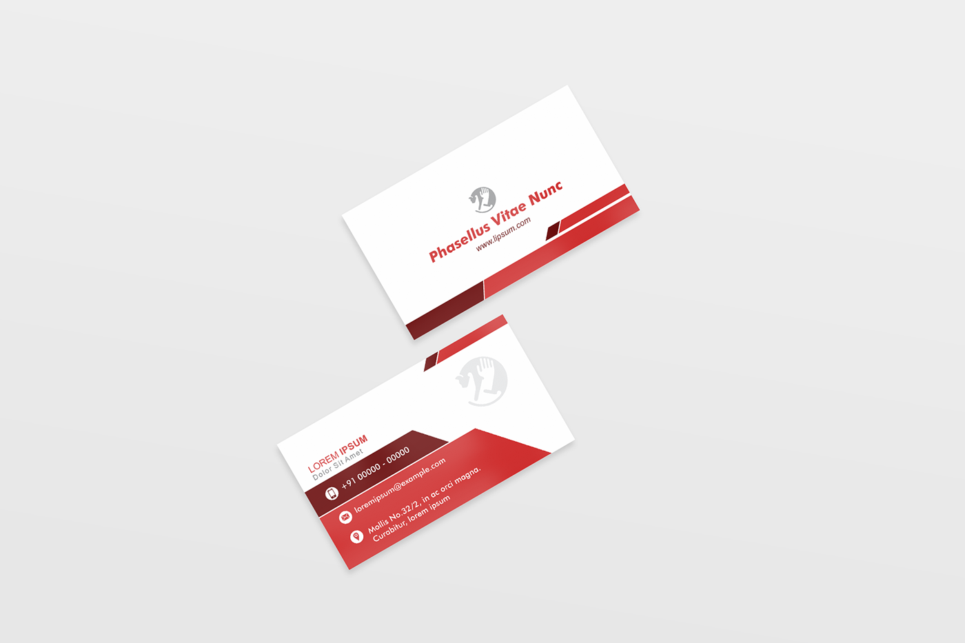 business visiting card design sample