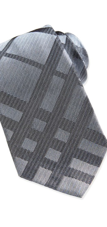 Burberry Plaid Tonal Tie