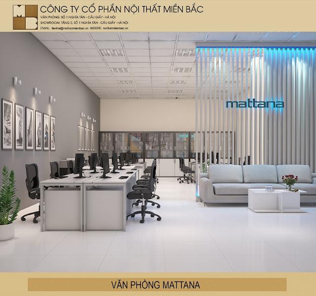 Thiết kế nội thất văn phòng hiện đại sử dụng nội thất thật công năng và tiện nghi như mang đến sự chuyên nghiệp cho văn phòng