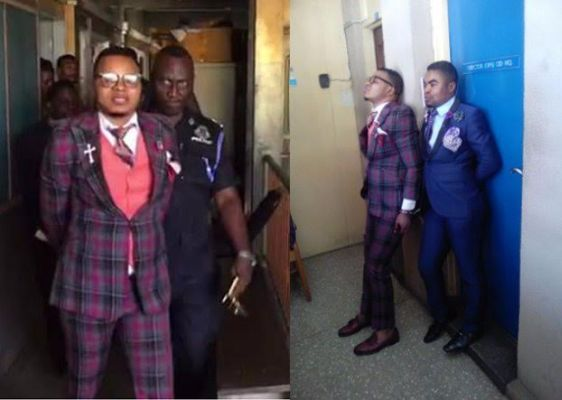 Bishop Daniel Obinim arrested over GH¢11.6 million fraud case and led away in handcuffs (see photos)