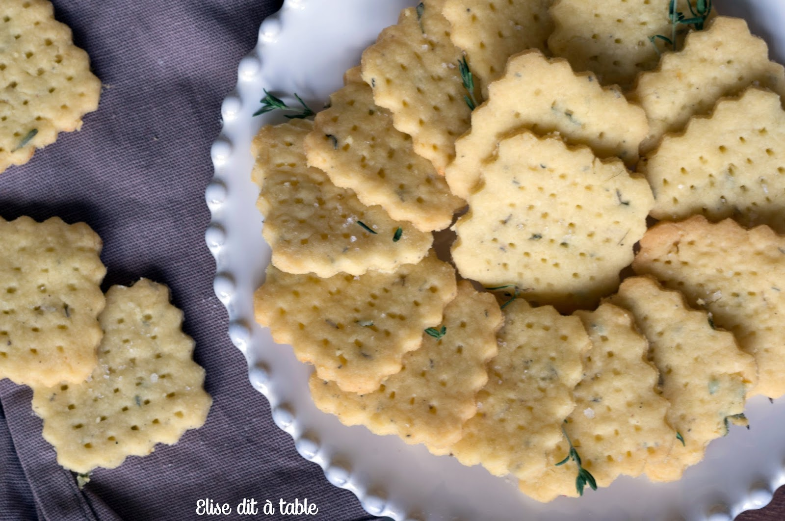 recette biscuit apéritif
