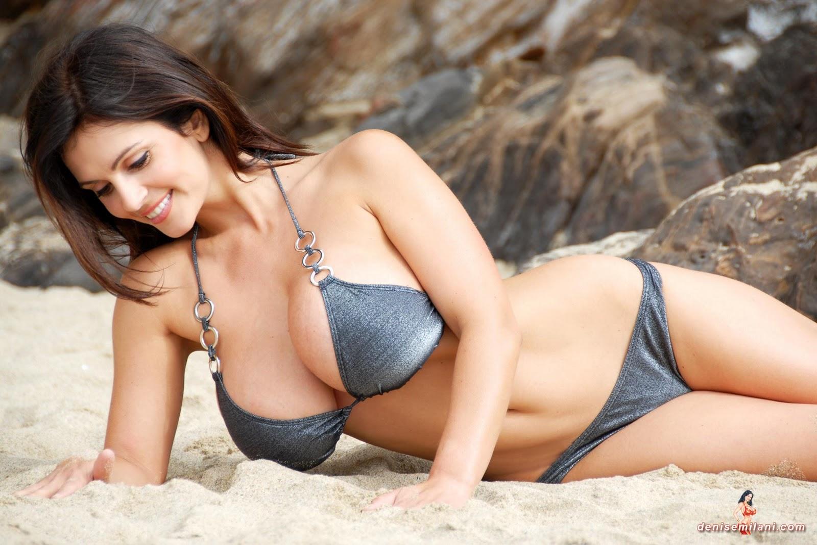 denise milani -bikini wallpapers | MovieMasala