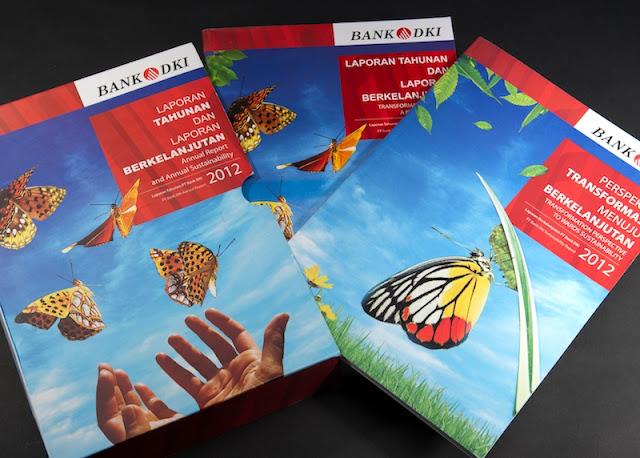 Produk Fluk Design Majalah Bank DKI