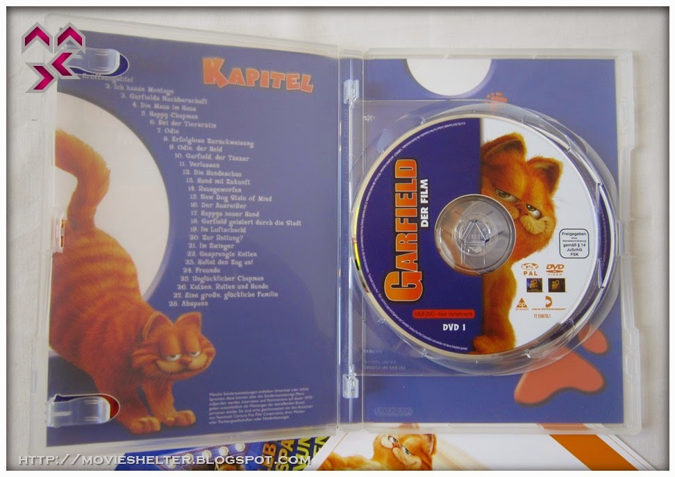 Movie Shelter Destination Point For Movies Garfield Special Fell Edition Dvd Germany