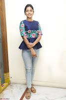 Eesha Looks super cute stunning in Denim Jeans and Top at Darsakudu movie Inerview ~  Exclusive 035.JPG