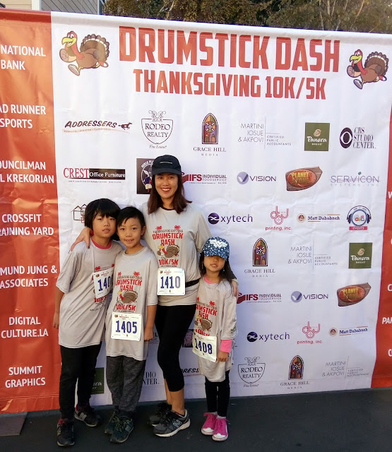 2nd annual drumstick dash for thanksgiving 5k