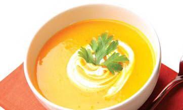 Món súp bí đỏ