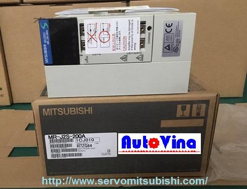 Drive Amplifier MelServo Mitsubishi 2000W MR-J2S-200A