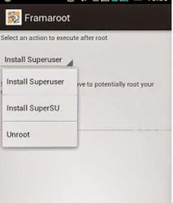 Cara Root dan Unroot Semua Android Tanpa PC