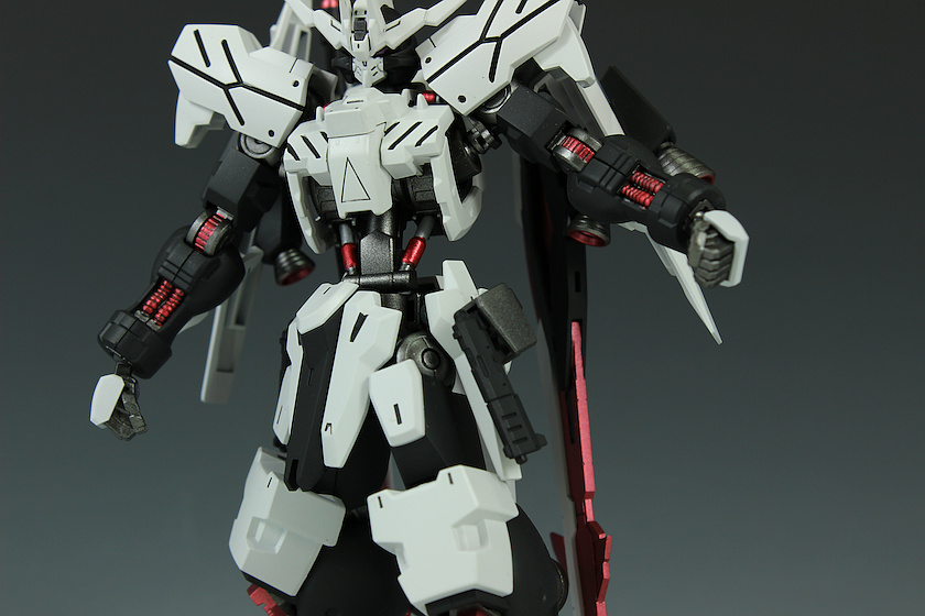 Painted Build: HG 1/144 Gundam Vidar [White]