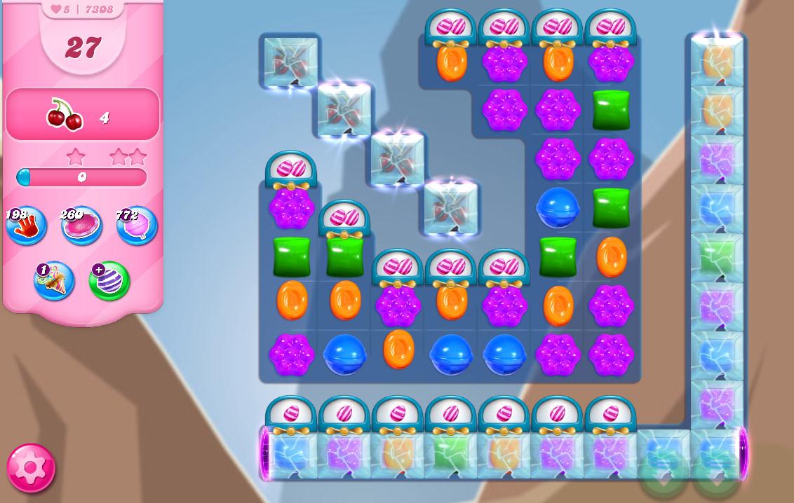 Candy Crush Saga level 7308