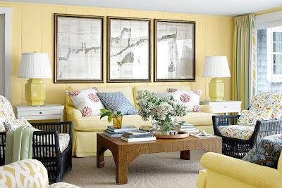 warna cat tembok ruang tamu minimalis terbaru