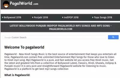 PagalWorld: Pagalworld 2018, PagalWorld Movies MP3 Songs, PagalWorld.com Free HD Movies Video Songs Download, Pagalworld.io Music Video Songs Download Free - PagalWorld Website पर ऑडियो, विडियो गाने डाउनलोड किए जा सकते हैं लेकिन इन कंटेंट पर साइट का कोई कॉपीराइट नहीं है और बिना कॉपीराइट के ऑनलाइन कुछ भी प्रचारित या डाउनलोड करना भारतीय कानून के मुताबिक गैरकानूनी है।