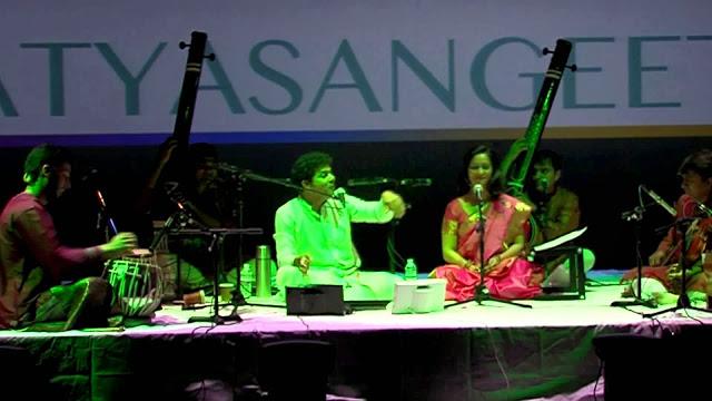 Mahesh Kale singing Natya Sangeet
