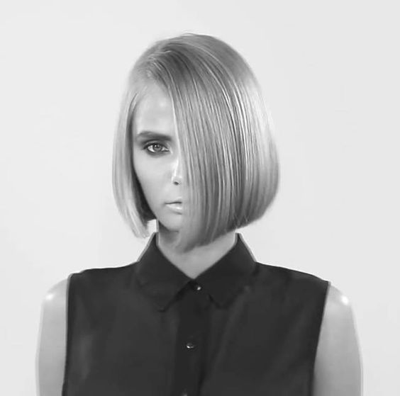 Stunning One Length Bob Haircuts The Haircut Web