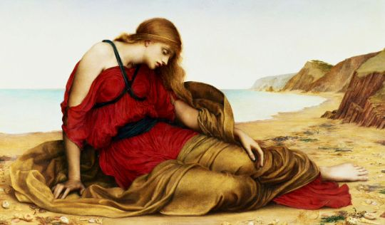 Ariadne in Naxos  Evelyn De Morgan (1877)